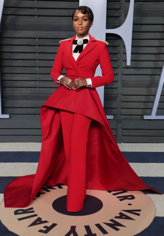 Janelle Monae – 2018 Vanity Fair Oscar Party in Beverly Hills