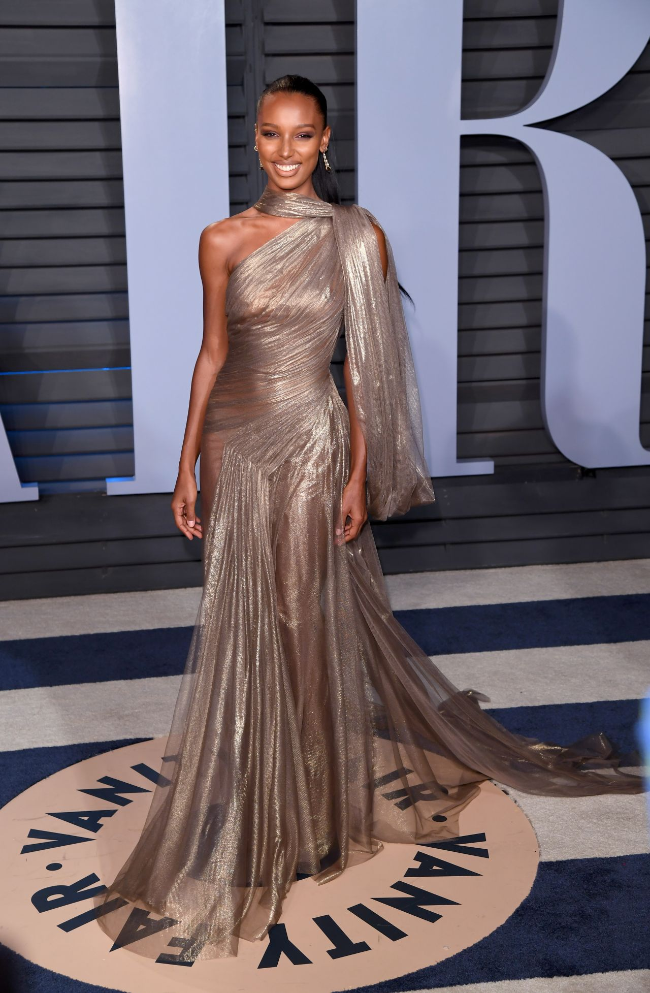 Jasmine Tookes 2018 Vanity Fair Oscar Party In Beverly Hills Celebmafia