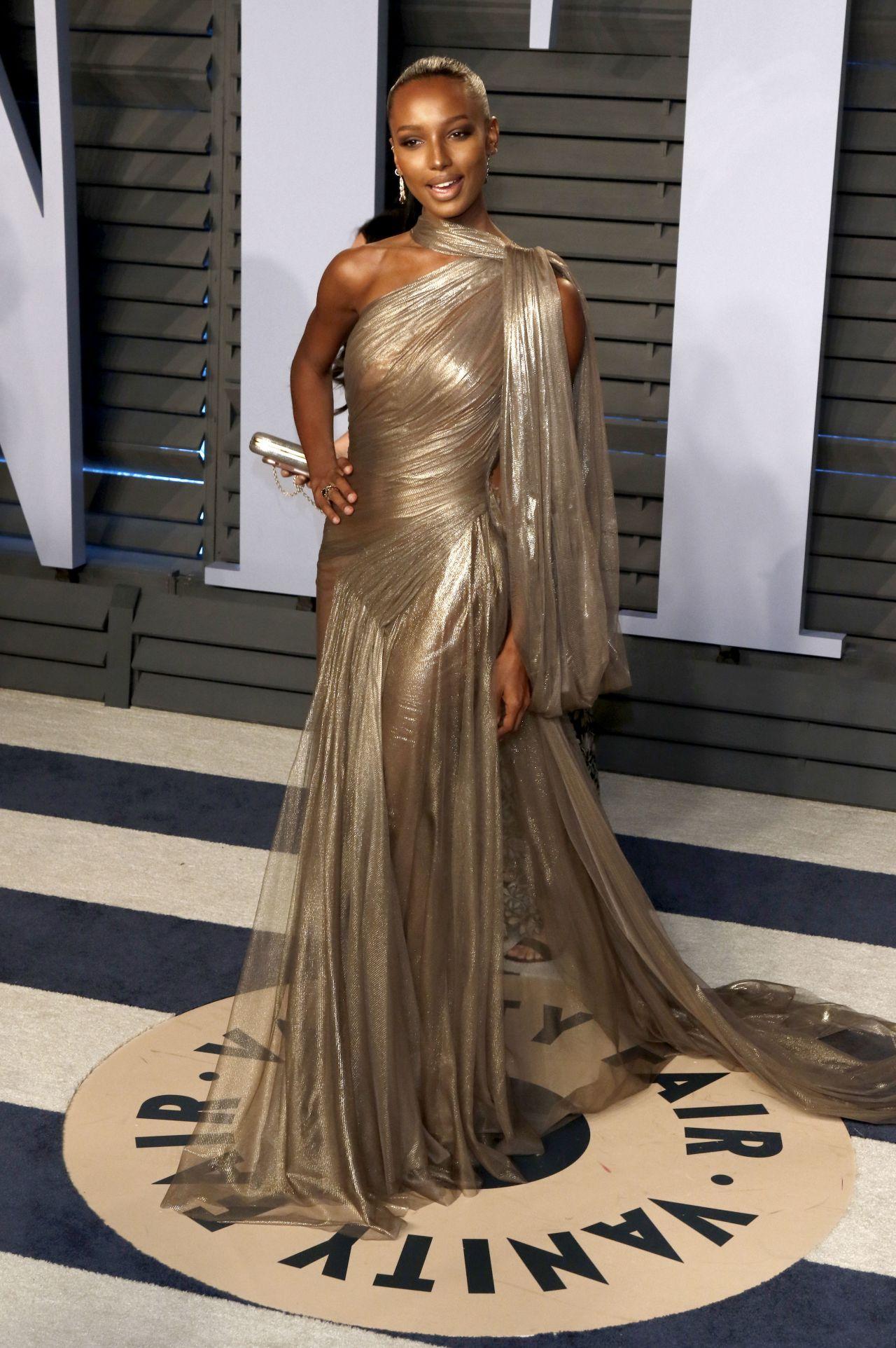 Jasmine Tookes 2018 Vanity Fair Oscar Party In Beverly Hills