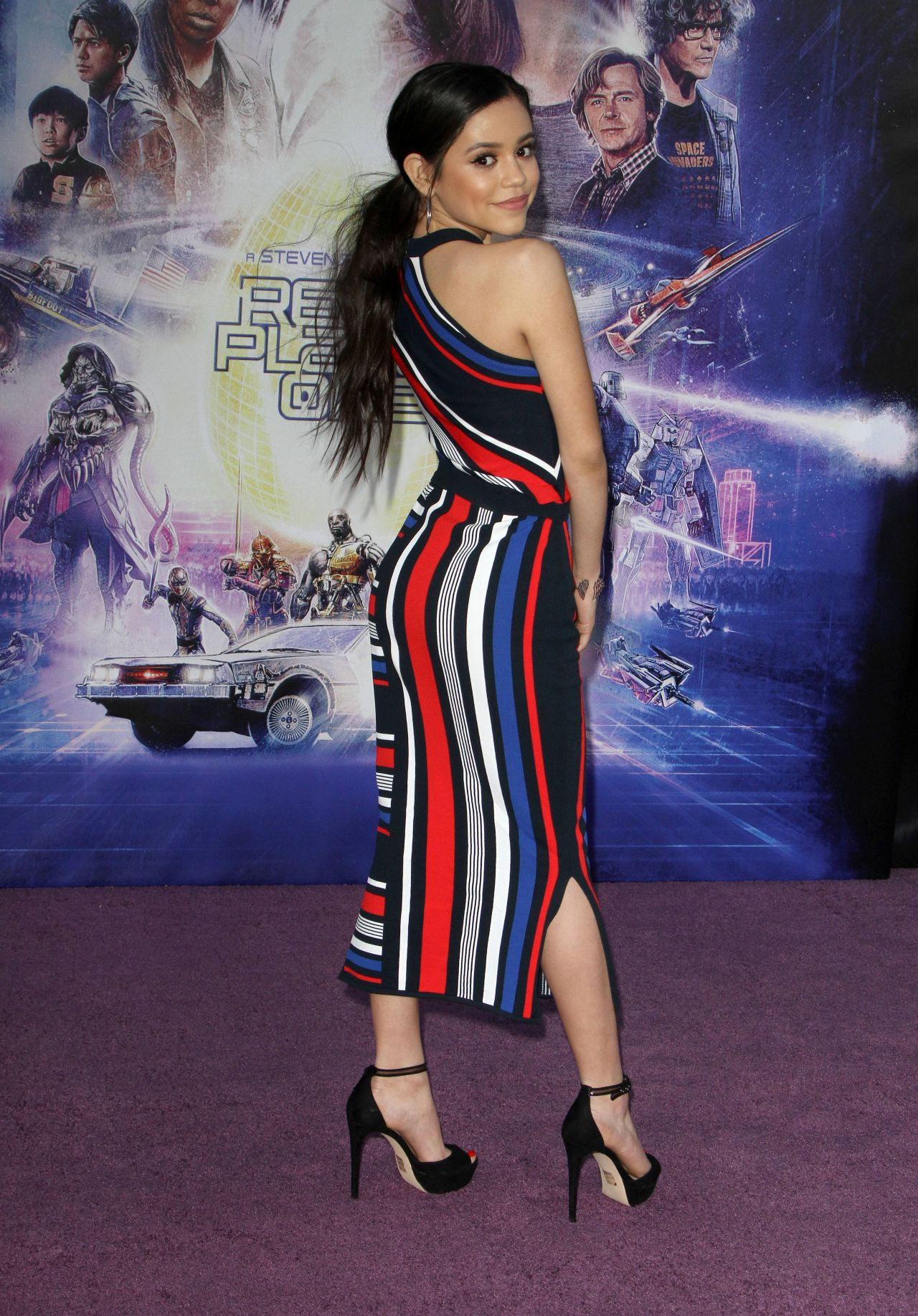 Jenna Ortega Ready Player One Premiere In Los Angeles