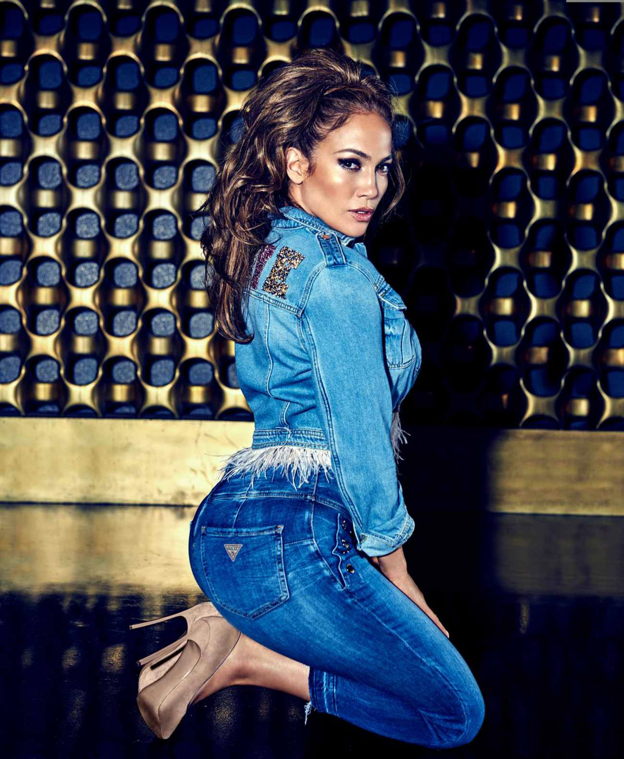 Jennifer Lopez Spring Summer 2018 Campaign Of Guess