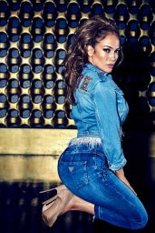 Jennifer Lopez - Spring-Summer 2018 Campaign of Guess