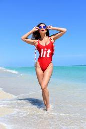 Jennifer Nicole Lee in Swimsuit - Photoshoot in Miami 03/06/2018