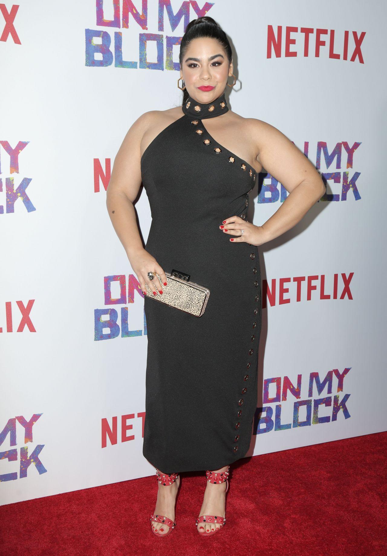 "Pump Los Angeles >> Jessica Marie Garcia - Netflix's ""On My Block"" Premiere in LA"