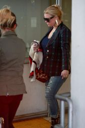 Jessica Simpson - After a Dermatology Appointment in Beverly Hills