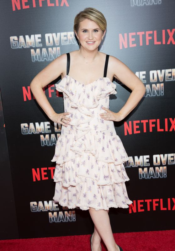 "Jillian Bell – ""Game Over, Man!"" Premiere in LA"