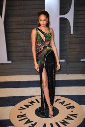 Joan Smalls – 2018 Vanity Fair Oscar Party in Beverly Hills
