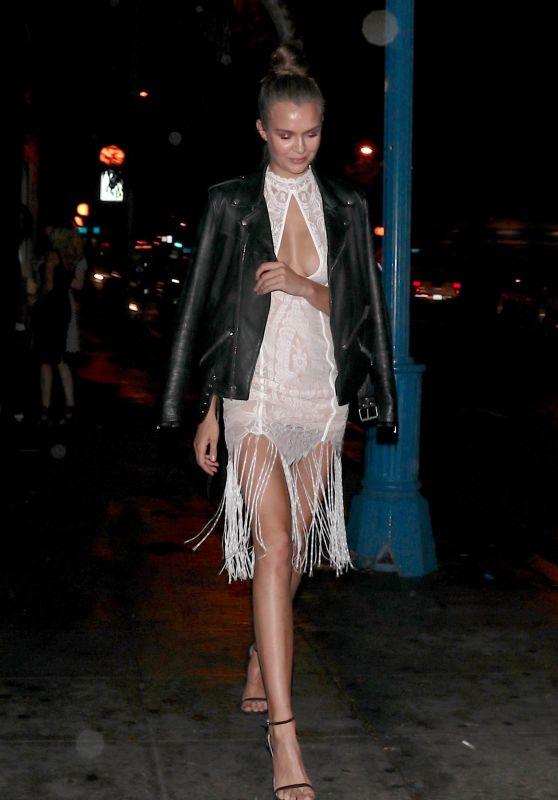 Josephine Skriver - Jewelry Event at Delilah Nightclub in West Hollywood 03/13/2018