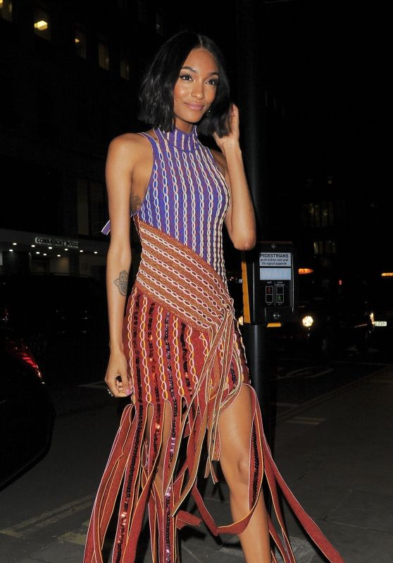 Jourdan Dunn at Atelier Swarovski Event in  London