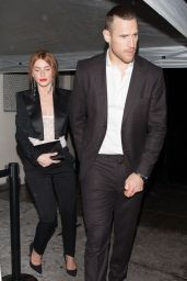 Julianne Hough - Leaving the Delilah club With Brooks Laich in West Hollywood