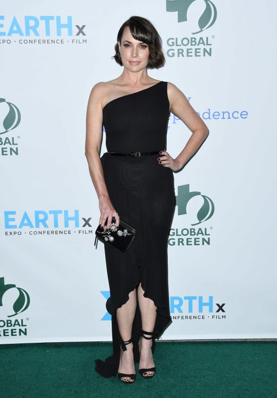 Julie Ann Emery - 2018 Global Green Pre-Oscar Gala