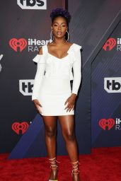 Justine Skye – 2018 iHeartRadio Music Awards in Inglewood