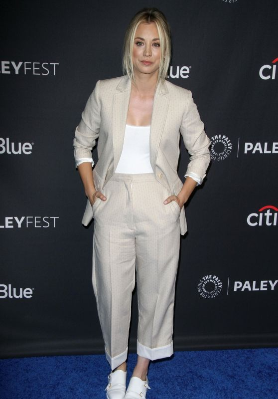 "Kaley Cuoco - ""The Big Bang Theory"" and ""Young Sheldon"" TV Show Presentation at Paleyfest in LA"