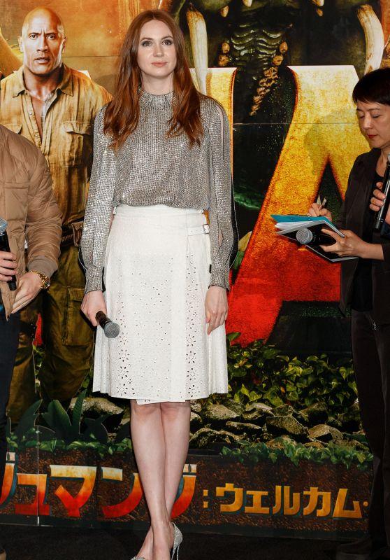 "Karen Gillan - ""Jumanji Welcome to the Jungle"" Special Screening in Tokyo 03/14/2018"