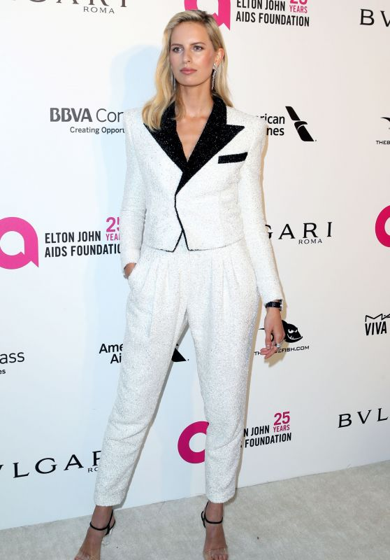 Karolina Kurkova – Elton John AIDS Foundation's Oscar 2018 Viewing Party in West Hollywood