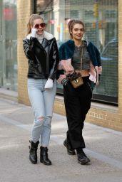 Karsyn Bartruff and Rubina Dyan Shop in Soho in NYC