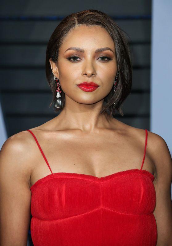 Kat Graham – 2018 Vanity Fair Oscar Party in Beverly Hills