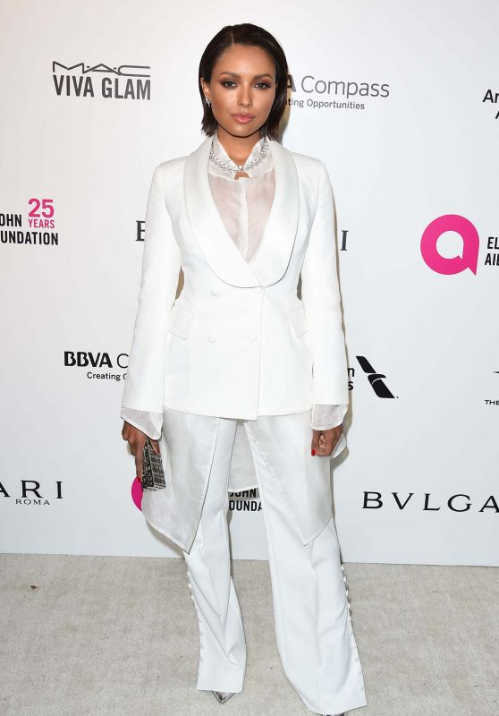 Kat Graham – Elton John AIDS Foundation's Oscar 2018 Viewing Party in West Hollywood
