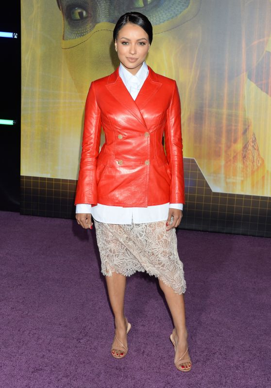"""Kat Graham – """"Ready Player One"""" Premiere in Los Angeles"""