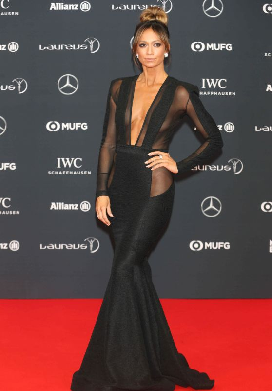 Kate Abdo Laureus World Sports Awards 2018 In Monte Carlo