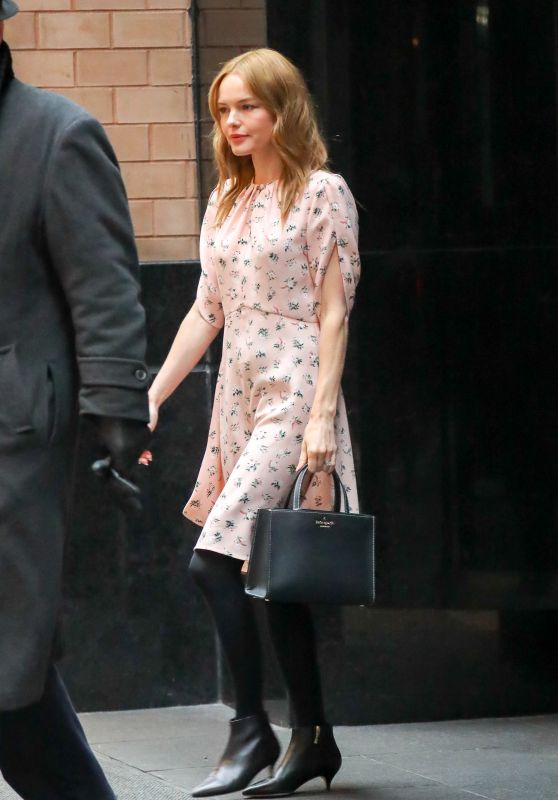 Kate Bosworth Leaving Her Hotel in New York City 03/21/2018