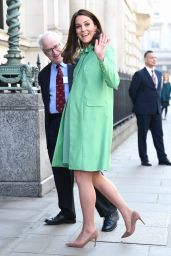 Kate Middleton - Arrives at the Royal Society of Medicine in London