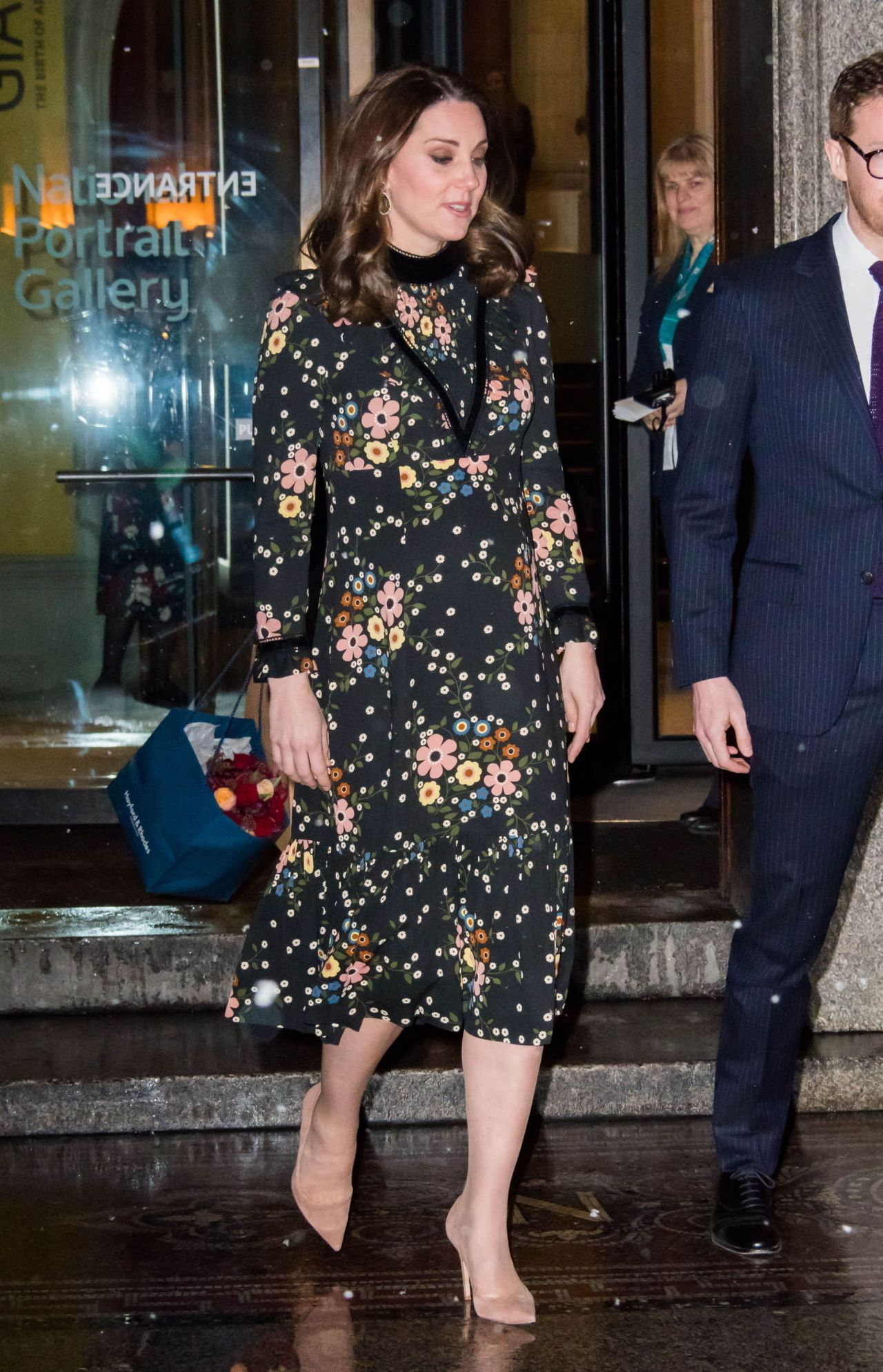 Kate Middleton At Victorian Giants The Birth Of Art