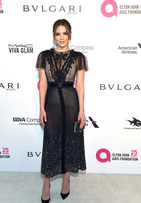 Katharine McPhee – Elton John AIDS Foundation's Oscar 2018 Viewing Party in West Hollywood