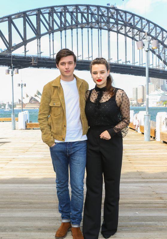 "Katherine Langford and Nick Robinson -  ""Love, Simon"" Photo Call in Sydney"