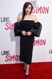 "Katherine Langford - ""Love, Simon"" Premiere in LA"