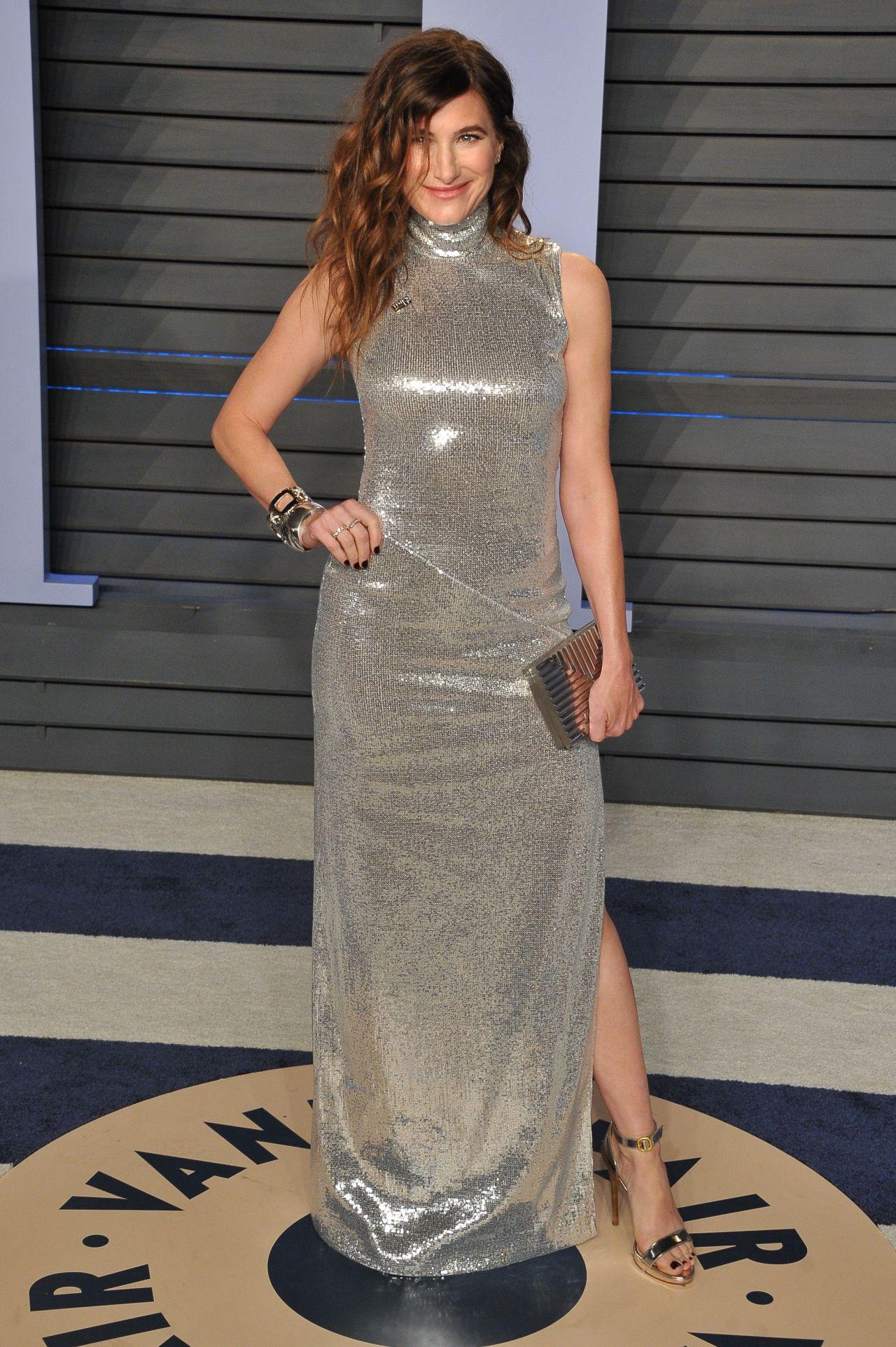 Kathryn Hahn 2018 Vanity Fair Oscar Party In Beverly Hills
