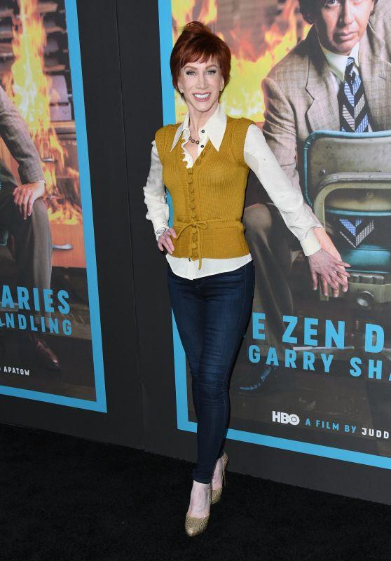 """Kathy Griffin - """"The Zen Diaries of Garry Shandling"""" Screening in LA"""