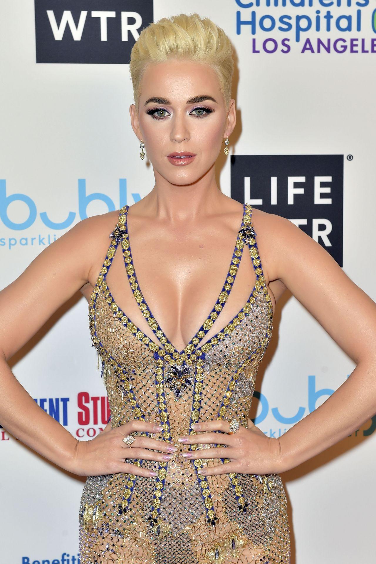 Katy Perry Byron Allen S 2018 Oscar Gala Viewing Party