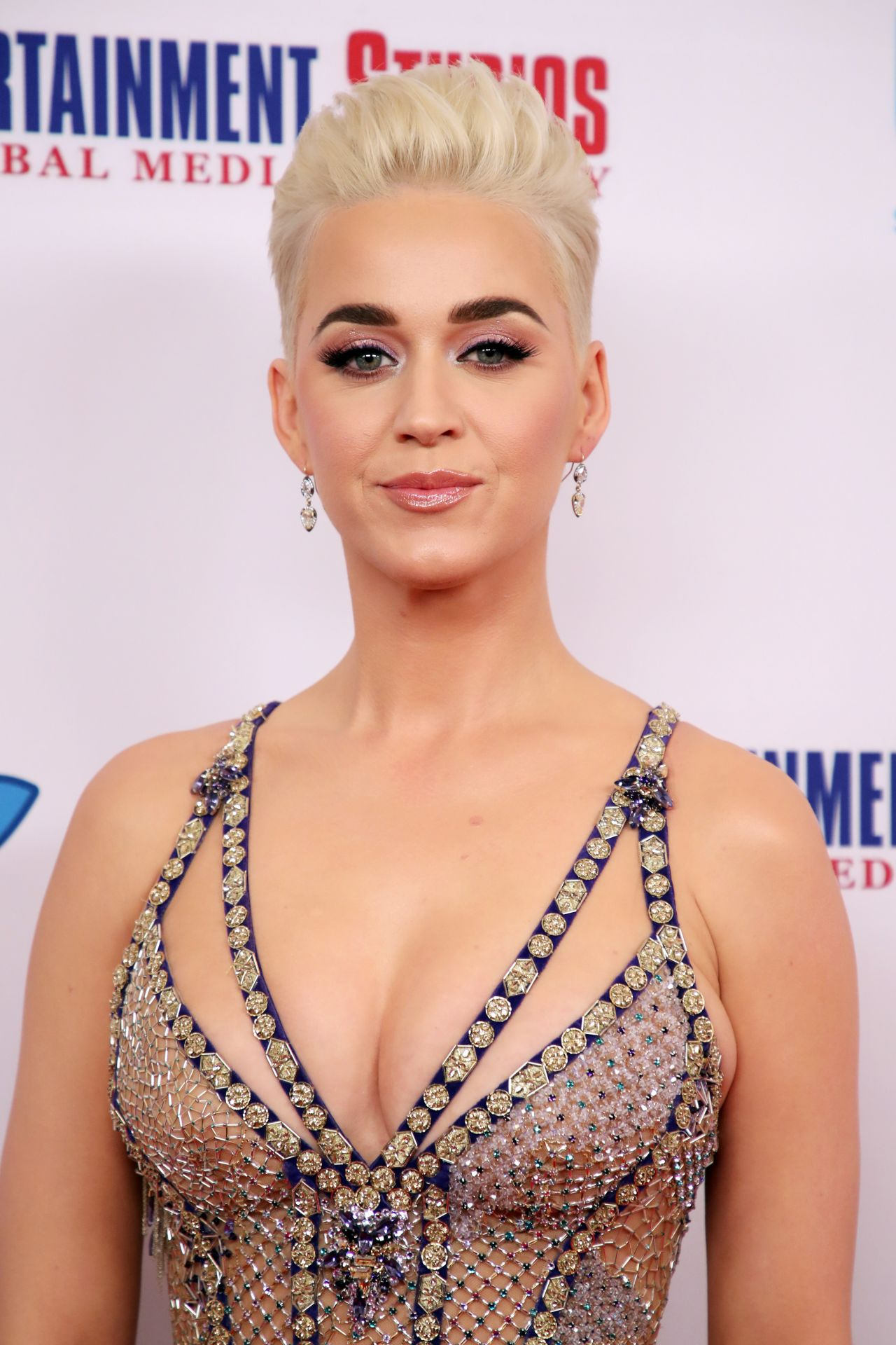 Katy Perry Byron Allen S 2018 Oscar Gala Viewing Party