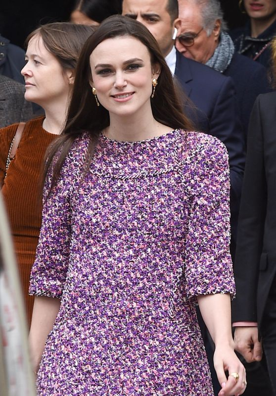 Keira Knightley - Arrives at the Chanel Show in Paris 03/06/2018