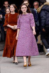 Keira Knightley – Chanel Fashion Show FW18 in Paris