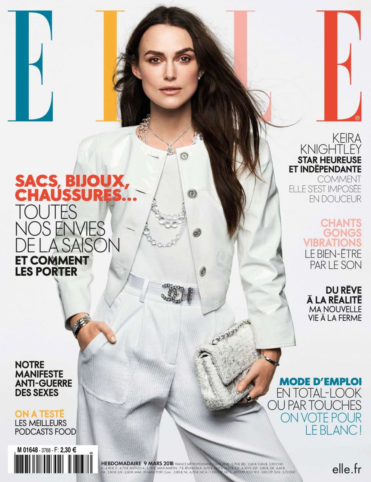 Elle Magazine France February March: Elle Magazine France March 2018