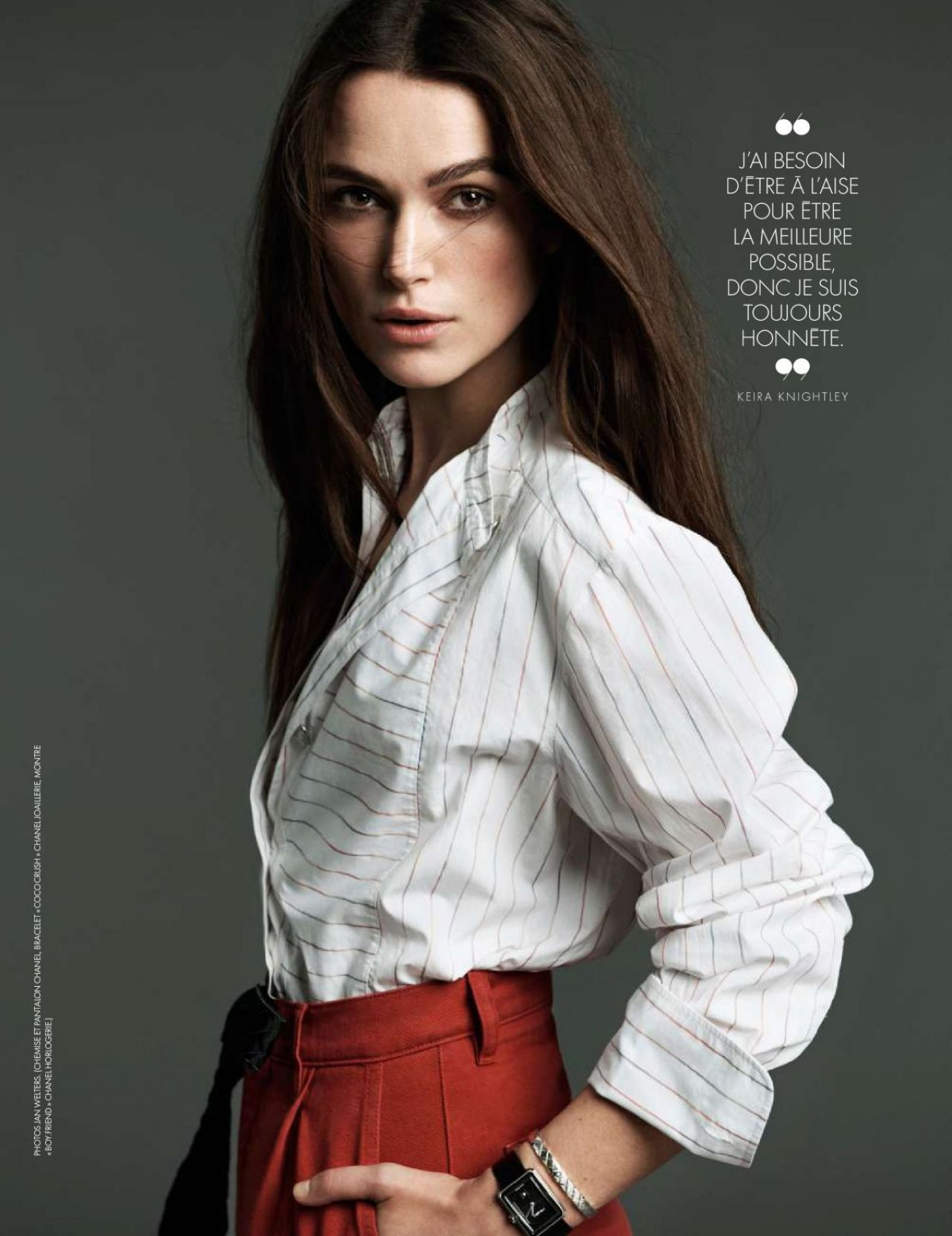 Keira Knightley Elle Magazine France March 2018