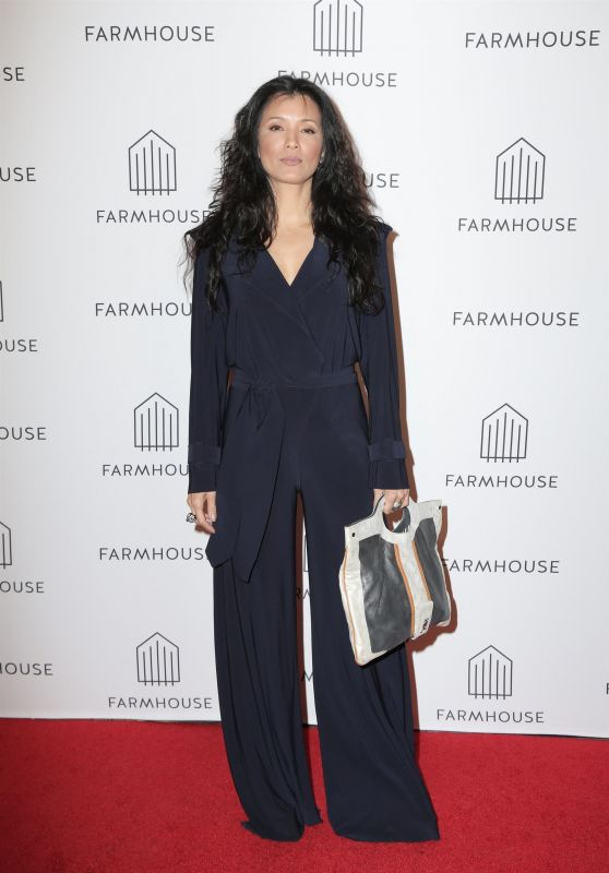 Kelly Hu - Farmhouse Grand Opening at the Beverly Center in LA