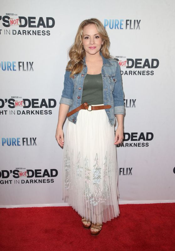 "Kelly Stables – ""God's Not Dead: A Light in Darkness"" Premiere in LA"