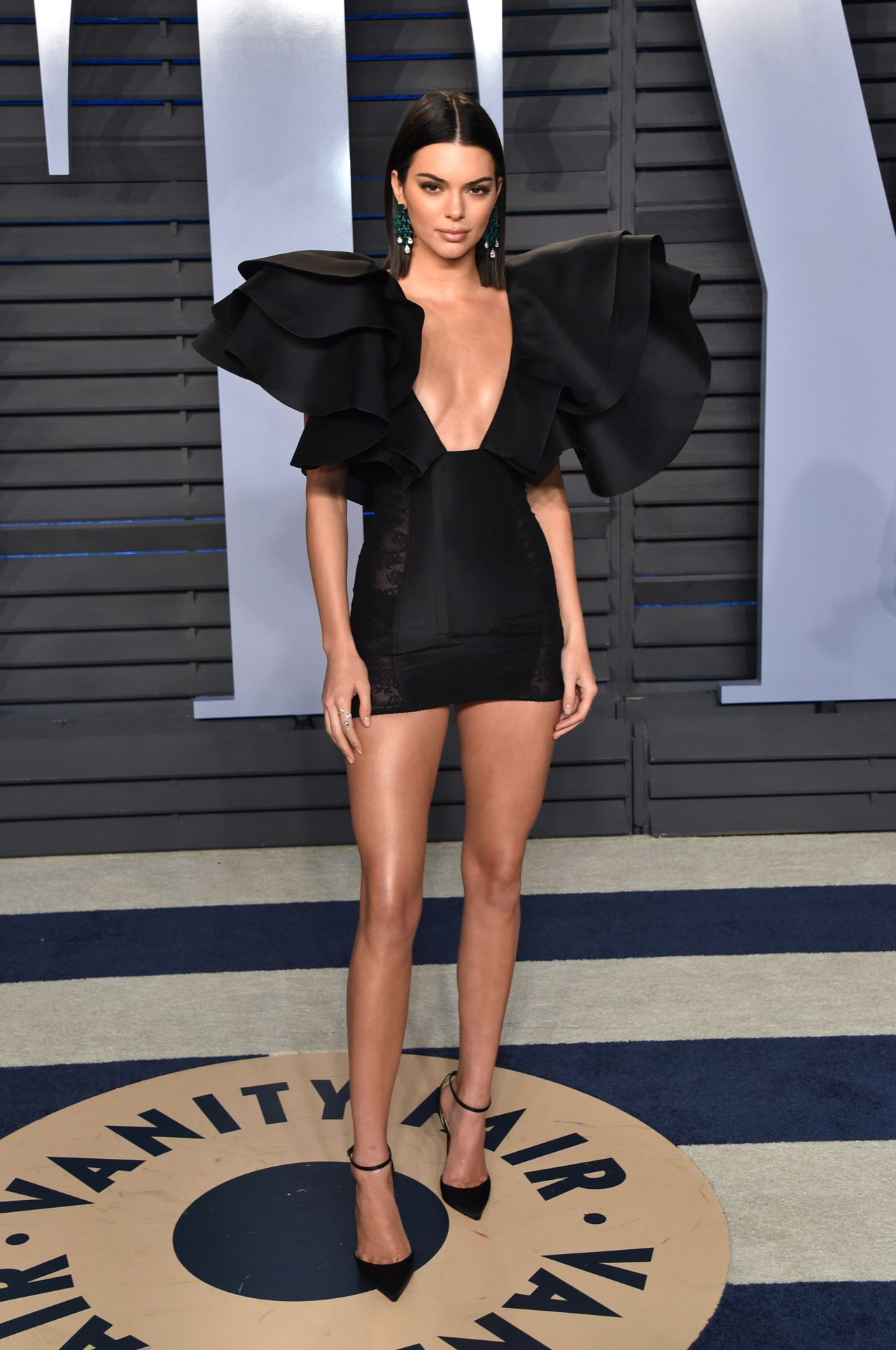 Kendall Jenner 2018 Vanity Fair Oscar Party In Beverly Hills