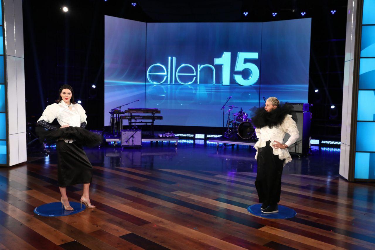 Kendall jenner at the ellen degeneres show in burbank 03 14 2018 - Ellen show address ...