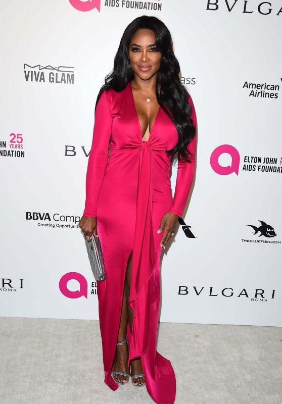 Kenya Moore – Elton John AIDS Foundation's Oscar 2018 Viewing Party in West Hollywood