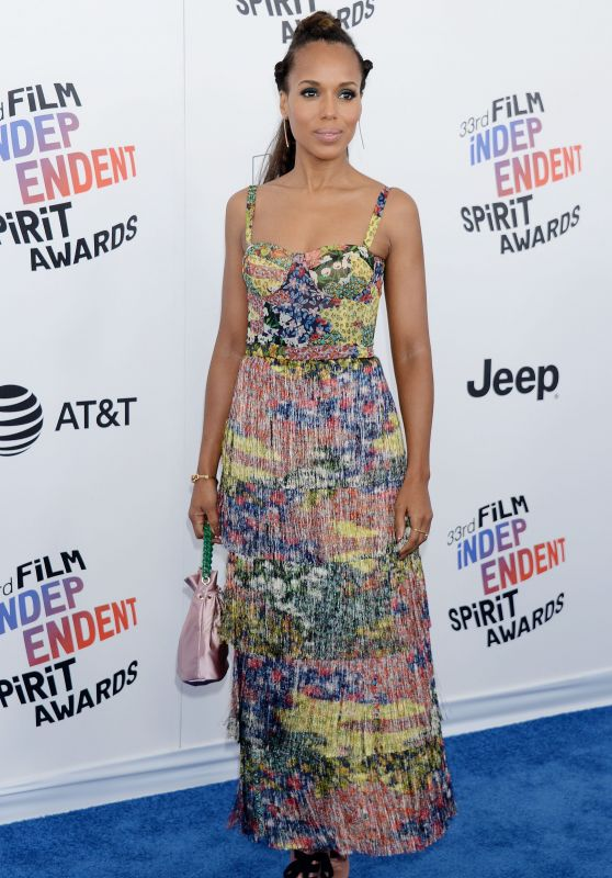 Kerry Washington – 2018 Film Independent Spirit Awards in Santa Monica