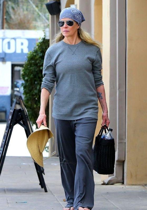 Kim Basinger Street Style - Los Angeles 03/14/2018