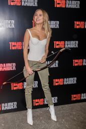 """Kimberley Garner - Tomb Raider Themed """"Escape the Room"""" in London"""