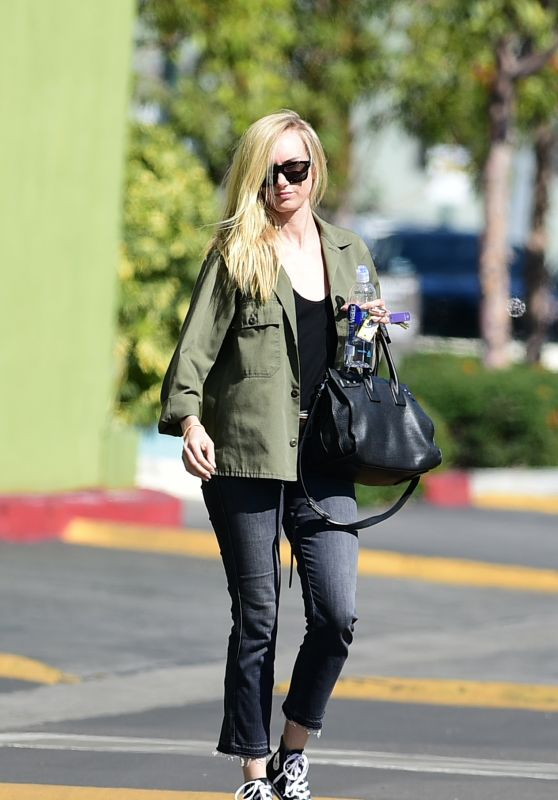 Kimberly Stewart in Casual Outfit - Los Angeles 03/28/2018