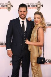 Kirby Burgess – The Book Of Mormon Opening Night in Sydney 03/09/2018