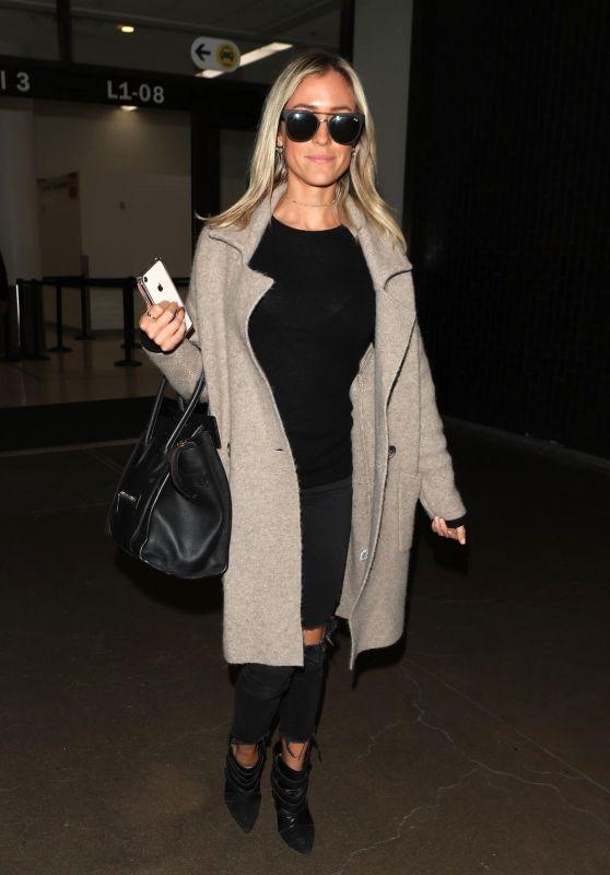Kristin Cavallari at LAX Airport in Los Angeles 02/28/2018