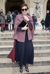 Kristin Scott Thomas – Stella McCartney Show FW18 in Paris